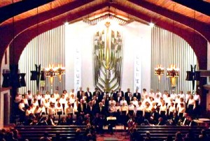 Faure Requiem at St. Mark the Evangelist Roman Catholic Church in Westbrook, April 3, 2005