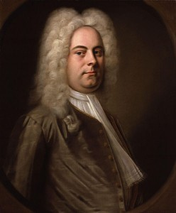 Handel Messiah Easter Selections portrait of George Frideric Handel by Balthasar Denner