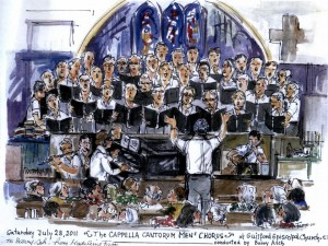 Men's Chorus Sketch 2