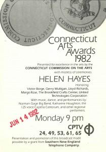 Connecticut Arts Awards 1982