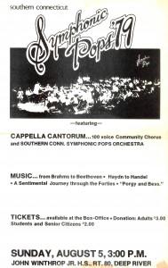 Symphonic Pops, August 5, 1979